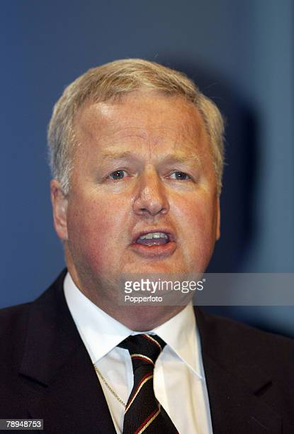 Politics Blackpool England 8th October 2003 Conservative Party Conference Col Bob Stewart