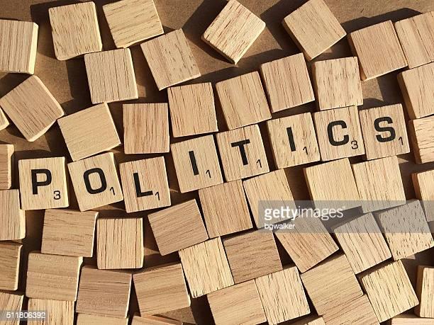 Politics in Scrabble Letters