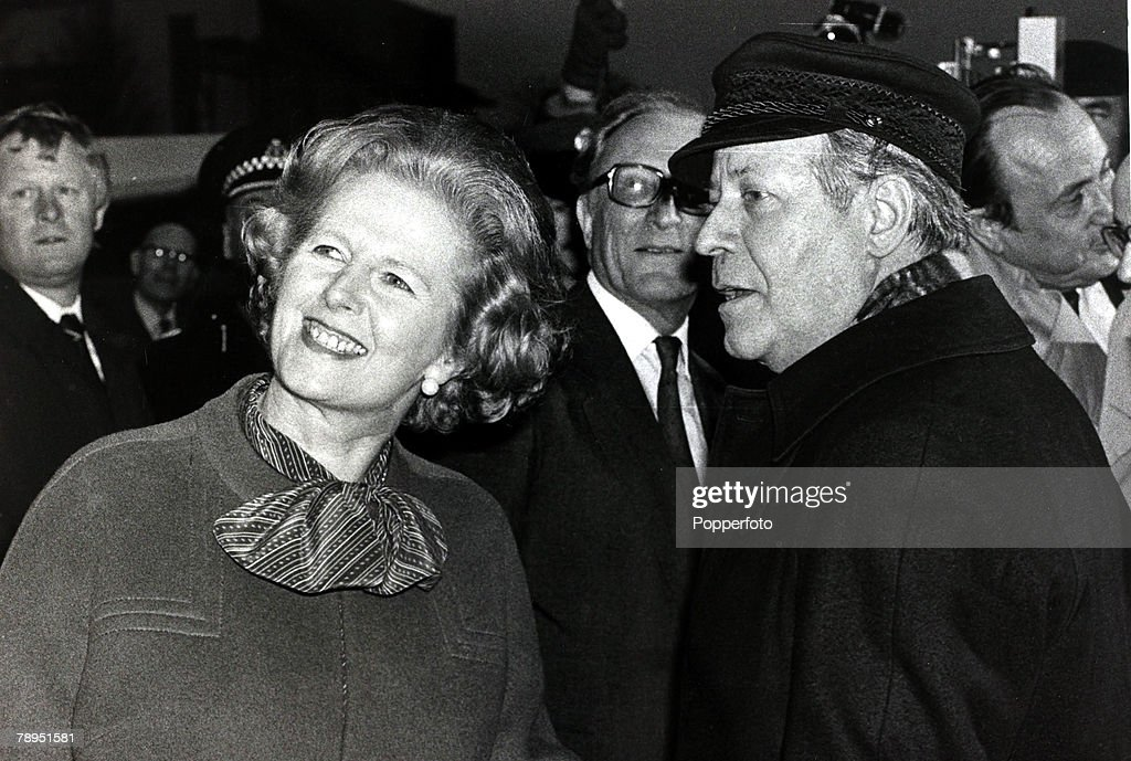 Margaret Thatcher On The International Stage