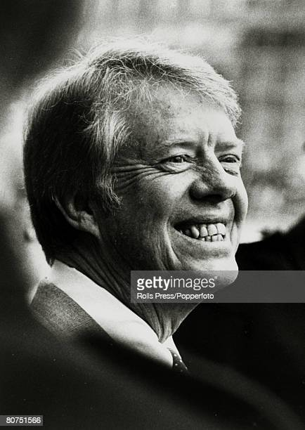 1977 President Jimmy Carterin good humour after a NATO Council meeting in London Jimmy Carter became the 39th President of the United States 19771981...