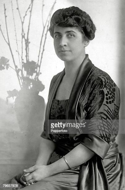 circa 1925 Mrs Grace Coolidge the First Lady to Calvin Coolidge Calvin Coolidge became the 30th President of the United States 19231929