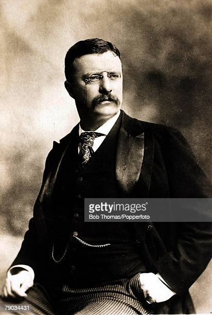 Politics Theodore Roosevelt US Politician 26th US President from 19011909