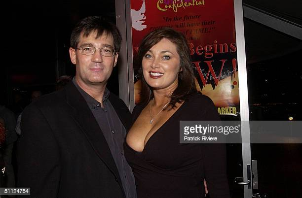 Politiician David Oldfield with wife Lisa at the launch of Bessie Bardot's book 'Casting Couch Confidential' at the Posh Lounge in Sydney