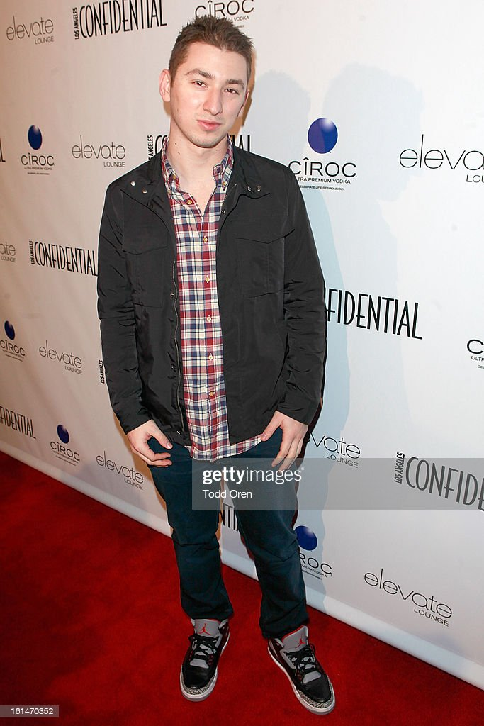 DJ Politik poses at the Los Angeles Confidential Magazine and Mary J. Blige Celebrate the GRAMMYS at Elevate Lounge on February 10, 2013 in Los Angeles, California.