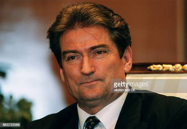 Politiker Albanien Demokratische Partei Präsident der Republik Albanien Porträt 00031996