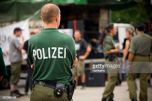 Polizei, policeman in Berlin