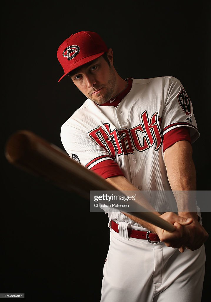 A.J. Pollock #11 of the Arizona Diamondbacks poses for a portrait during spring training photo day at Salt River Fields at Talking Stick on February 19, 2014 in Scottsdale, Arizona.