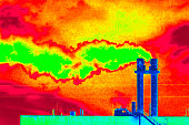 Pollution from burning fossil energy sources
