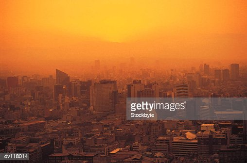 Pollution over Mexico City