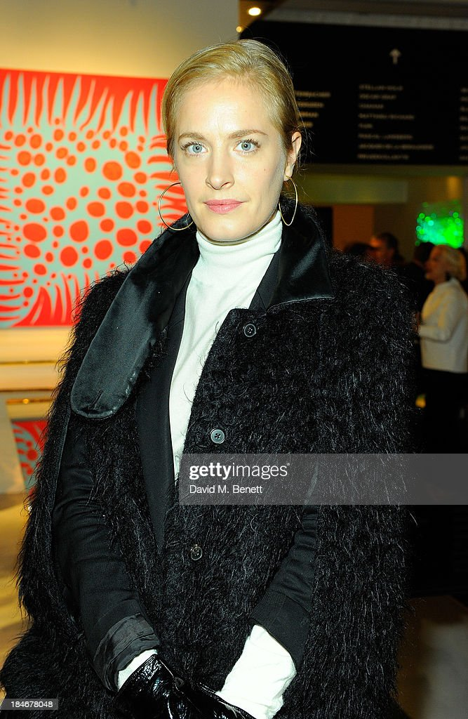 Polly Morgan attends the Moet Hennessy London Prize Jury Visit during the PAD London Art + Design Fair at Berkeley Square Gardens on October 14, 2013 in London, England.
