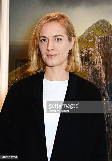 Polly Morgan attends the Pringle of Scotland Fully Fashioned Exhibition and Autumn/Winter 2015 Womenswear Runway Show at The Serpentine Gallery on...