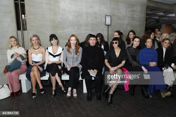 Polly Morgan Charlotte Carroll Daisy Lowe Eleanor Tomlinson Marc Almond Noomi Rapace Erin O'Connor Tiphaine De Lussy and Olivia Palermo attend the...