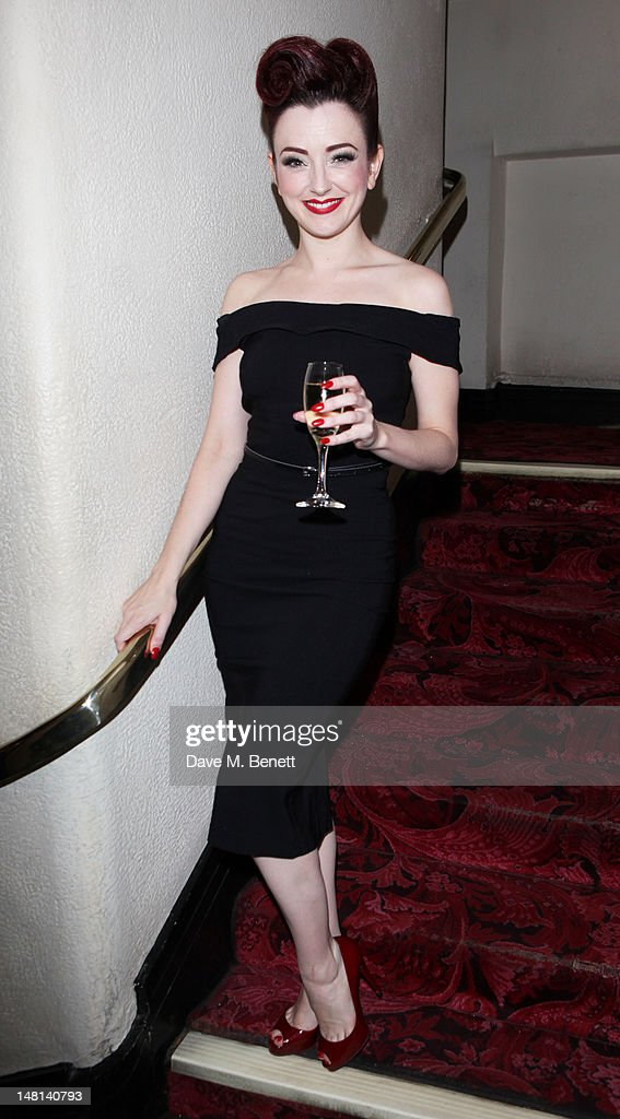 Polly Rae attends the 'The Hurly Burly Show' press night on July 10, 2012 on London, England.