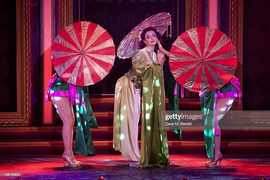 Polly Rae performs onstage during the 'The Hurly Burly Show' press night on July 10, 2012 on London, England.