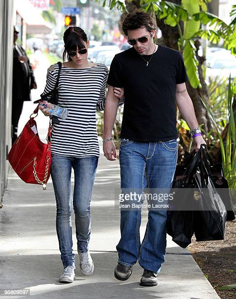 Pollyanna Rose and Billy Burke sighted on Beverly Boulevard on January 15 2010 in Los Angeles California