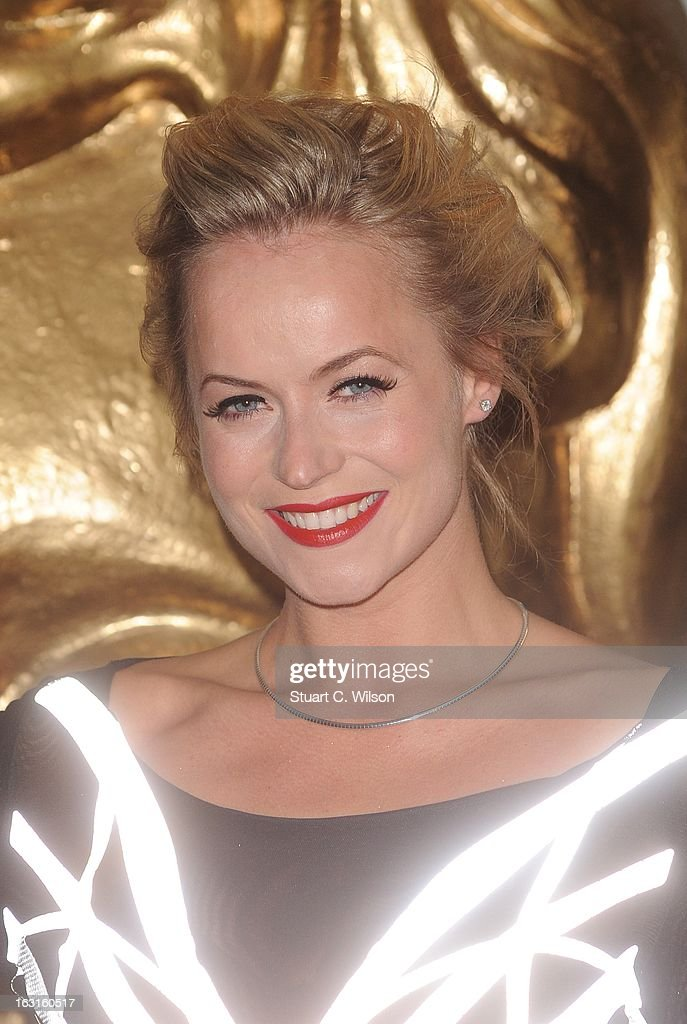 Pollyanna Woodward attends The British Academy Games Awards at London Hilton on March 5, 2013 in London, England.