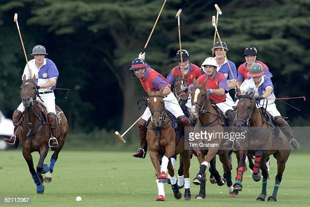 Polo At Cirencester In Gloucestershire Prince Charles Prince William And Prince Harry Were On The Same Team And They Won Prince Charles Show Them How...
