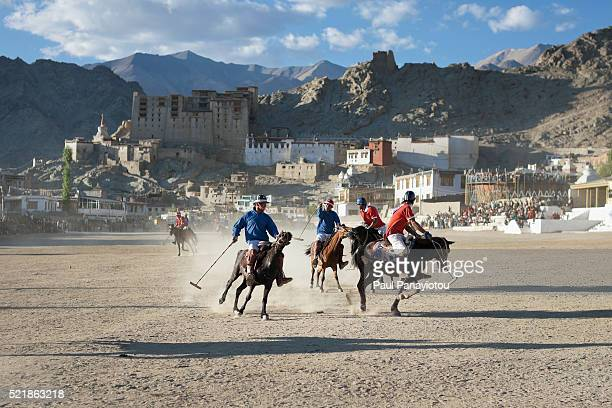 Polo match held during the Ladakh Festival, Leh, India