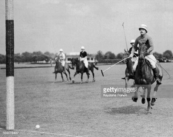 Polo Match In Aldershot In England In 1935