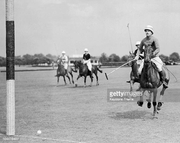 Polo Match In Aldershot In England In 1935