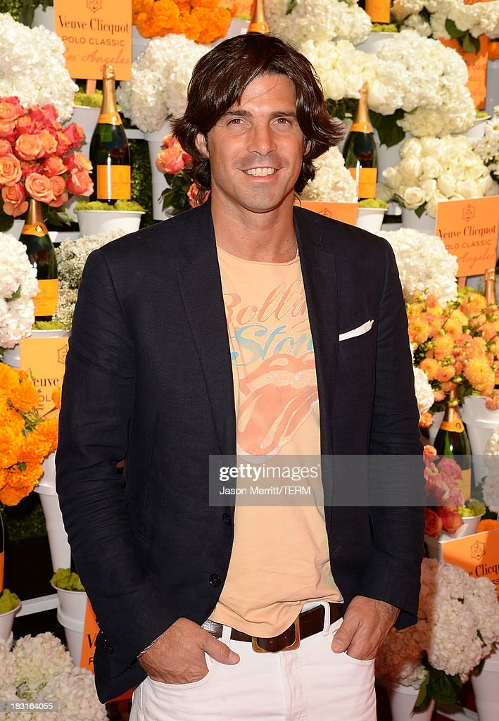 Polo player <a gi-track='captionPersonalityLinkClicked' href=/galleries/search?phrase=Nacho+Figueras&family=editorial&specificpeople=2308997 ng-click='$event.stopPropagation()'>Nacho Figueras</a> attends The Fourth-Annual Veuve Clicquot Polo Classic, Los Angeles at Will Rogers State Historic Park on October 5, 2013 in Pacific Palisades, California.