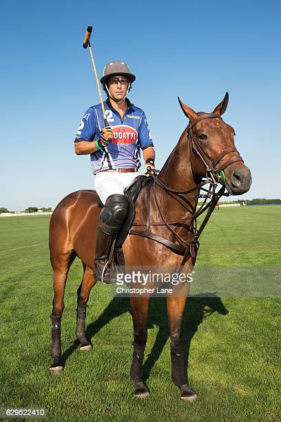 Polo player Nacho Figueras is photographed for The London Times on August 7 2016 in Hampton New York