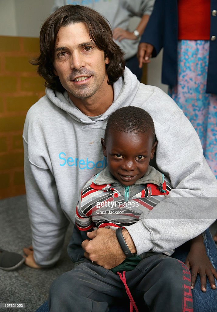 Nacho Figueras Visits Lesotho With Sentebale