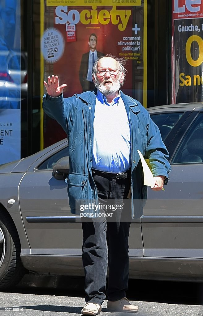 Poly Implant Prothese (PIP) founder Jean-Claude Mas arrives at the courthouse on May 2, 2016, in Aix-en-Provence, for his appeal trial after having been sentenced in an initial trial to four years of imprisonment for allegedly selling faulty breast implants that sparked global health fears. A French appeal court on May 2 upheld a four-year prison sentence for Jean-Claude Mas. HORVAT
