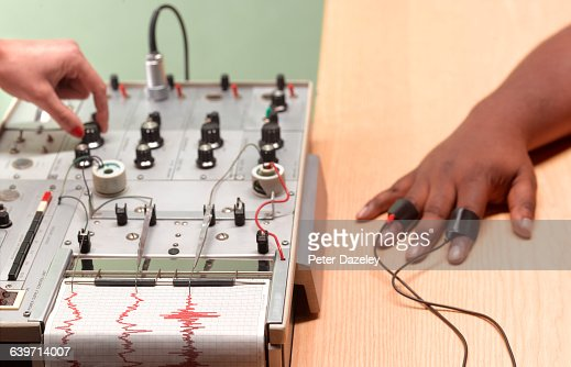 Polygraph guilty black hand