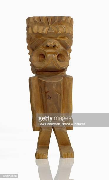 Polynesian Tiki carving
