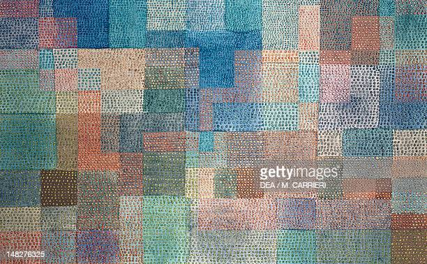 Polyphony by Paul Klee tempera5x106 cm Basel Kunstmuseum
