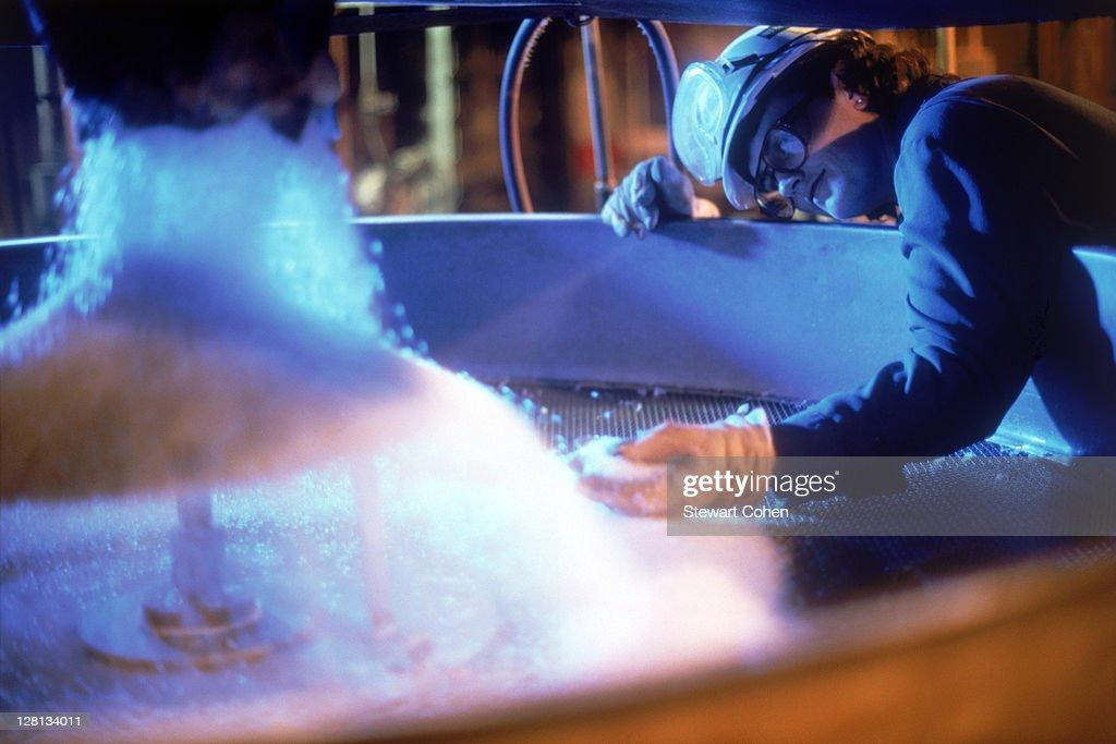 BUSIN074 Polypropylene Manufacturing : Stock Photo