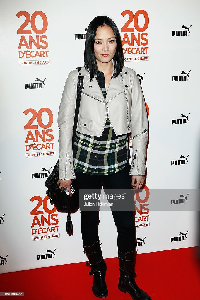 Pom Klementieff attends '20 Ans D'Ecart' Premiere at Gaumont Capucines on March 5, 2013 in Paris, France.