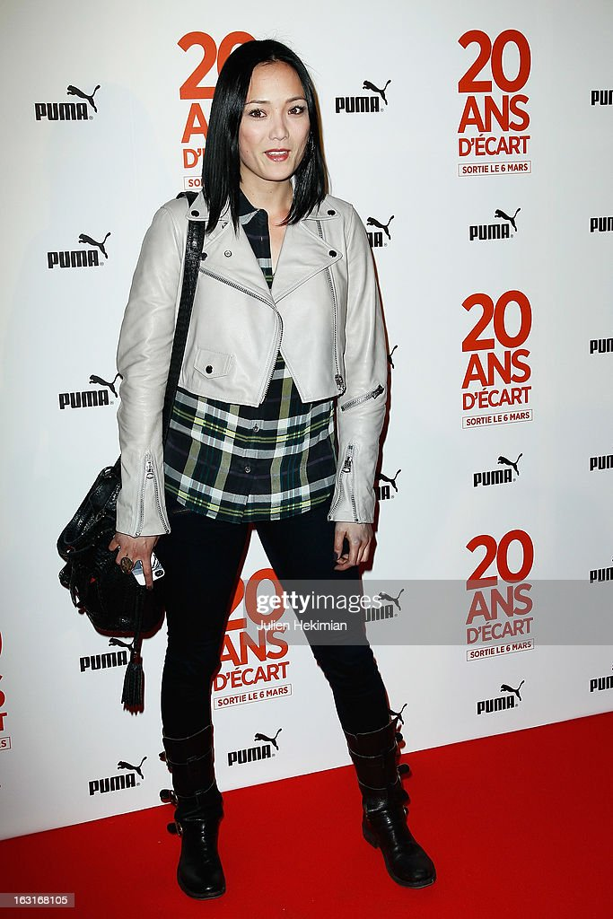 Pom Klementieff attends '20 Ans D'Ecart' Premiere at Gaumont Capucines on March 5, 2013 in Paris, France.
