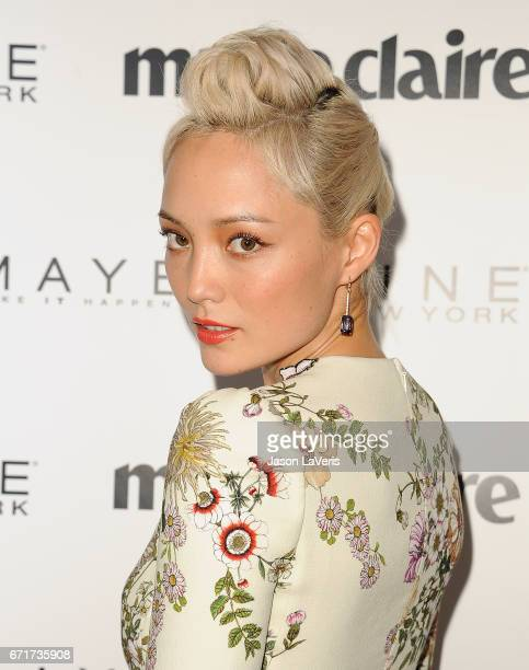 Pom Klementieff attends Marie Claire's Fresh Faces event at Doheny Room on April 21 2017 in West Hollywood California
