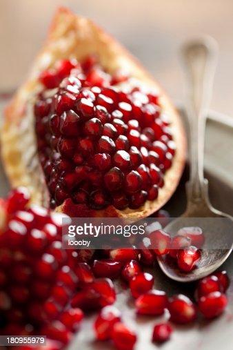 pomegranate : Stock Photo