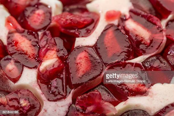 Pomegranate Seeds, Close-up, Germany