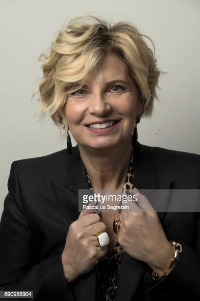 Pomellato France CEO Sabina Belli attends the Paris Luxury Summit 2017 at Theatre Des Sablons on December 12 2017 in NeuillysurSeine France