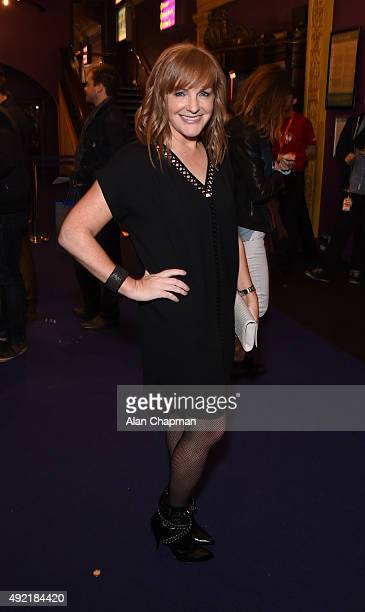Pomeroy attends the UK Premiere of 'Live From New York' during the BFI London Film Festival at Cineworld Haymarket on October 10 2015 in London...