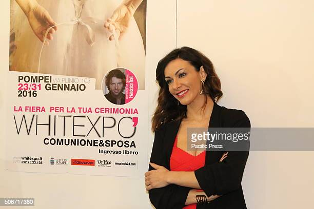 Pompeii fair dedicated to the ceremony 'Comunione e Sposa' White Expo A testimonial was shared by Melita Toniolo