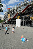 Pompidou center, Paris, France