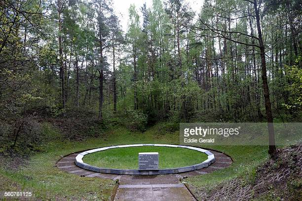 Ponary memorial site in Lithuania