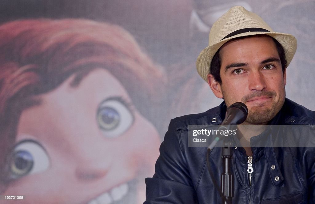 Poncho Herrera looks on during a press conference to present the movie Los Croods on March 14, 2013 in Mexico City, Mexico.