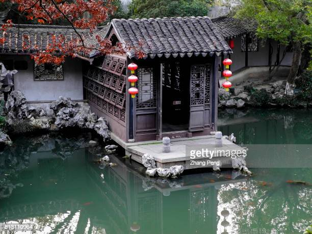 Pond and pavilions are the most beautiful scene in the Retreat Reflection Garden The Retreat Reflection Garden built in Qing Dynasty is a notable...