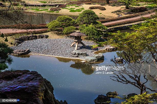 Pond Garden at Imperial Palace East Gardens Imperial Palace East Gardens is made up of the Honmaru and Ninomaru areas of Edo Castle None of the Edo...