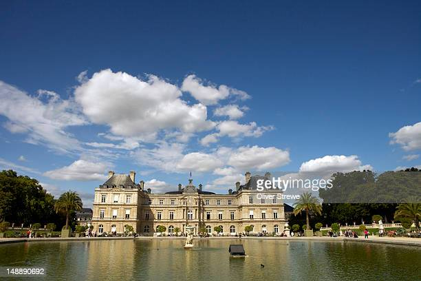 Pond of Palais du Luxembourg, Jardin du Luxembourg.
