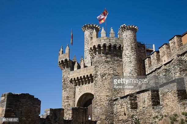 Ponferrada templar castle Castilla y Leon region 22th March 2009
