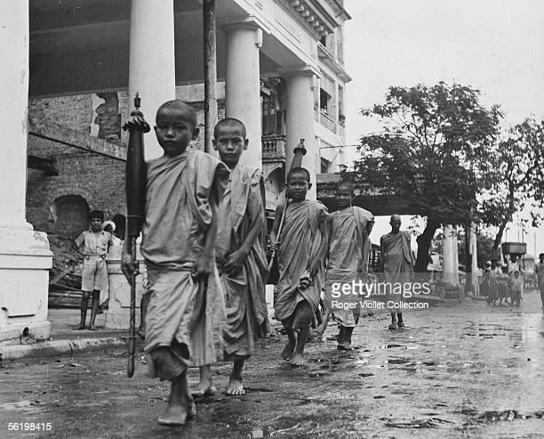 Pongyis Rangoon about 1950