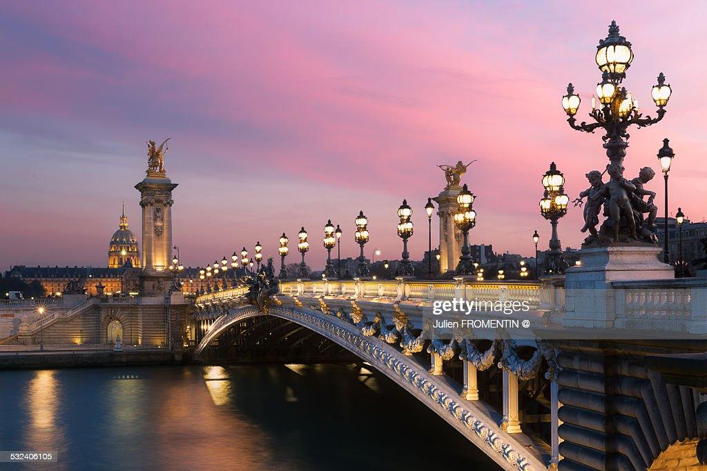 Pont Alexandre III & Les Invalides