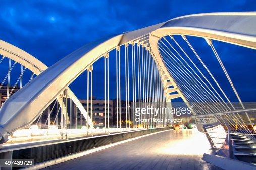 Pont bac de roda barcelona spain stock photo getty images for Gimnasio bac de roda